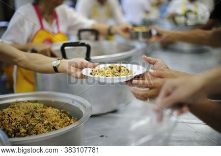 Provide Help With Free Food Distribution To The Poor And The Hungry.