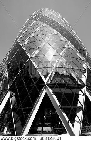 London, Uk - May 13, 2012: View Of 30 St Mary Axe Building In London. It Was Completed In 2003 And I