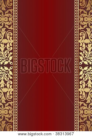 Dark Red Background