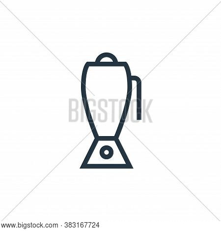 blender icon isolated on white background from appliances collection. blender icon trendy and modern
