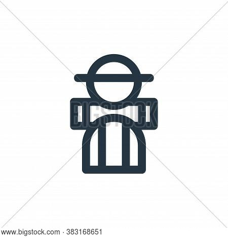 adventurer icon isolated on white background from outdoor collection. adventurer icon trendy and mod