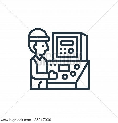 engineering icon isolated on white background from industry collection. engineering icon trendy and