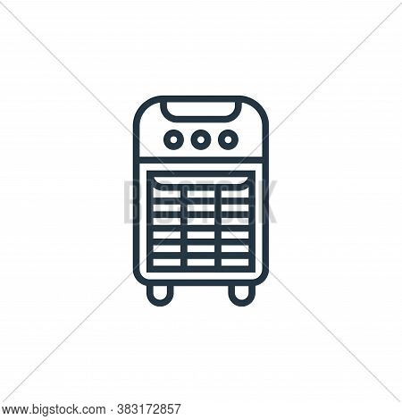 heater icon isolated on white background from home appliances collection. heater icon trendy and mod