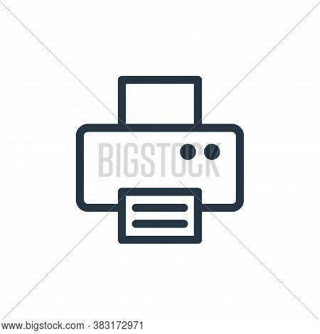 printer icon isolated on white background from electronics collection. printer icon trendy and moder
