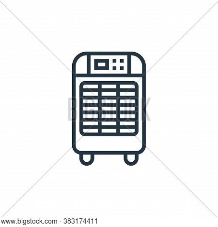 air conditioner icon isolated on white background from home appliances collection. air conditioner i