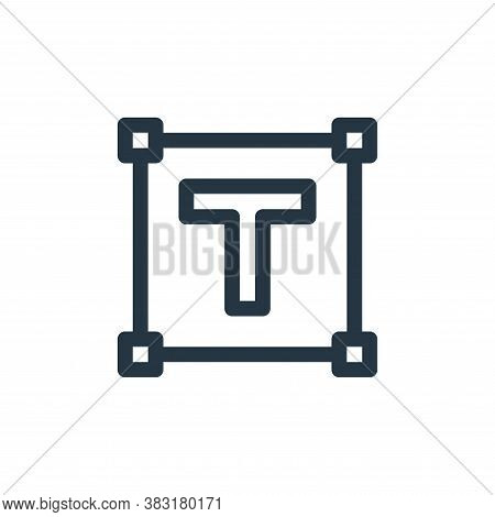 test icon isolated on white background from graphic design collection. test icon trendy and modern t