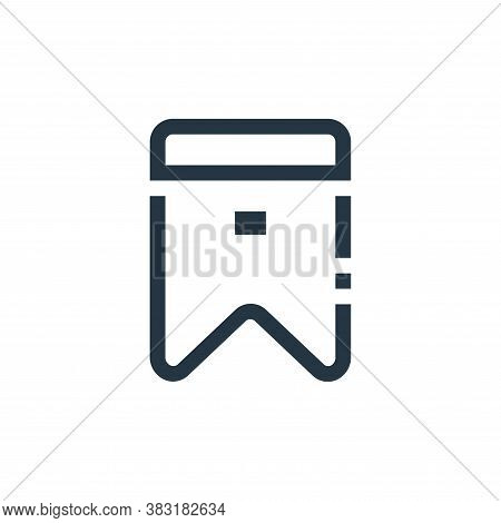 bookmark icon isolated on white background from ecommerce collection. bookmark icon trendy and moder