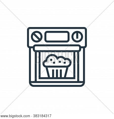 oven icon isolated on white background from home appliances collection. oven icon trendy and modern