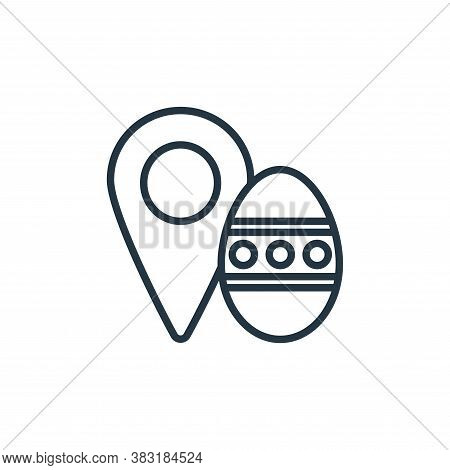 placeholder icon isolated on white background from easter day collection. placeholder icon trendy an