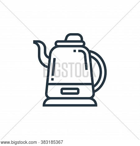 kettle icon isolated on white background from home appliances collection. kettle icon trendy and mod