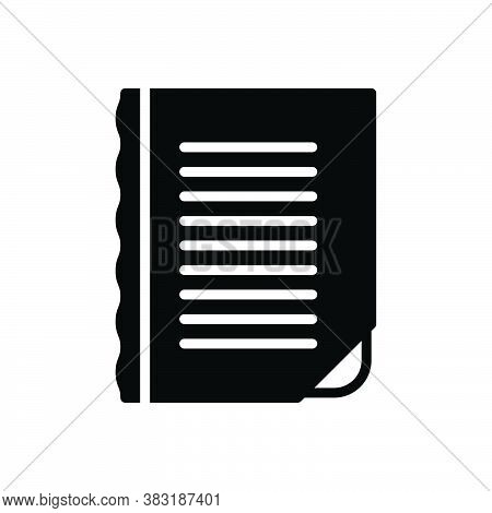 Black Solid Icon For Edge Torrent Watercourse Splitting Boundary Margin Outskirt Paper Curve