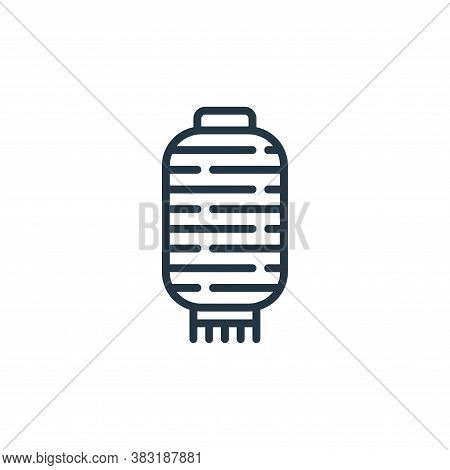 lantern icon isolated on white background from chinese new year collection. lantern icon trendy and