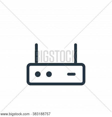 networking icon isolated on white background from electronics collection. networking icon trendy and
