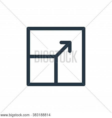 resize icon isolated on white background from graphic design collection. resize icon trendy and mode