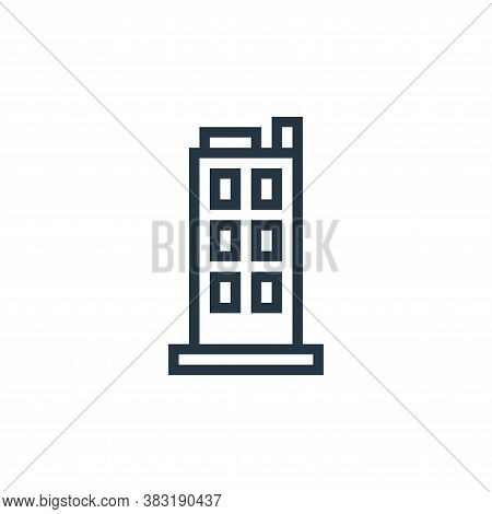 building icon isolated on white background from business collection. building icon trendy and modern