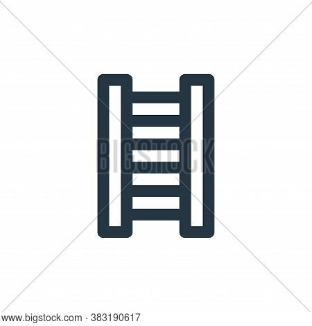 ladder icon isolated on white background from laboor and tools collection. ladder icon trendy and mo
