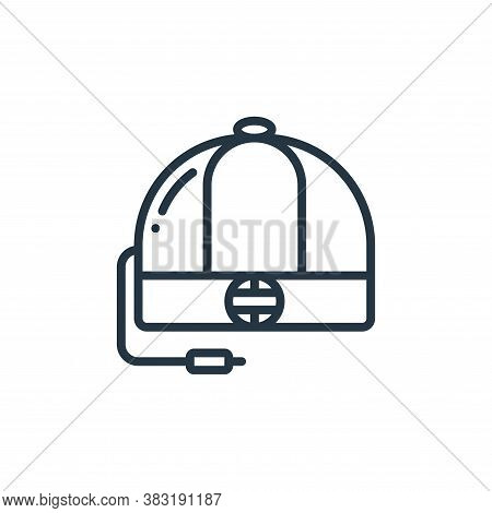hat icon isolated on white background from chinese new year collection. hat icon trendy and modern h