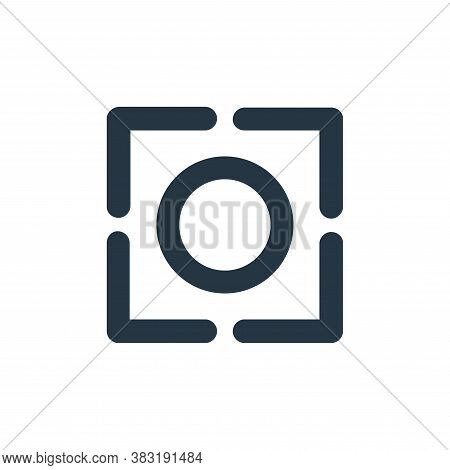 focus icon isolated on white background from miscellaneous collection. focus icon trendy and modern