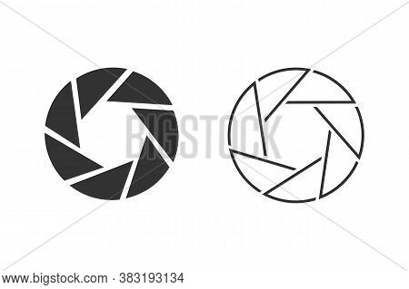 Camera Icon Set. Camera Symbol. Flat Photo Camera Vector Isolated. Modern Simple Snapshot Photograph
