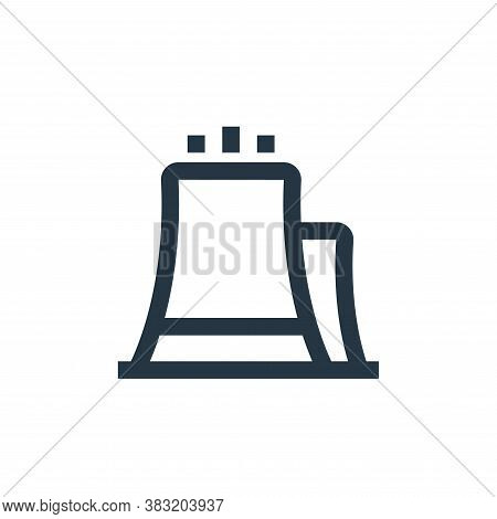 power plant icon isolated on white background from industry collection. power plant icon trendy and
