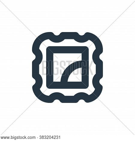 postage stamp icon isolated on white background from email collection. postage stamp icon trendy and