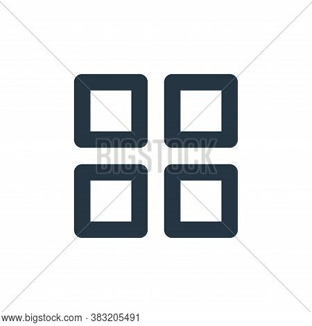 menu icon isolated on white background from user interface collection. menu icon trendy and modern m