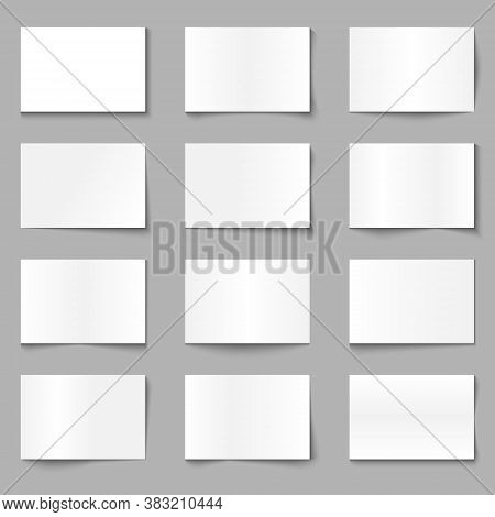 Paper Overlay Shadow Effect Template For Your Design