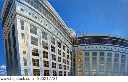 Panoramic Las Vegas - July 31, 2011: South Point Hotel Tower Of Casino & Spa In Las Vegas Which Has