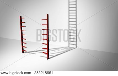 Stairway To Success And Become One For Solving Challenges And A Band Together Solution To Problems A