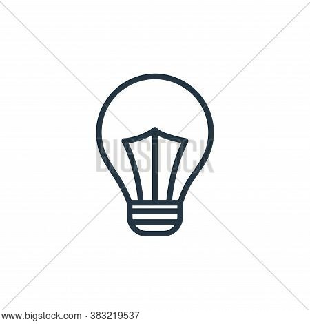 idea icon isolated on white background from school and education line collection. idea icon trendy a