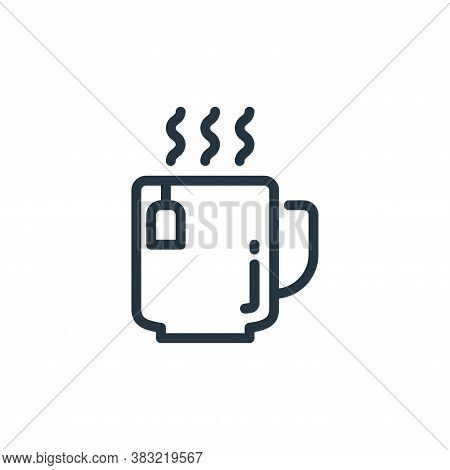 tea icon isolated on white background from kitchen collection. tea icon trendy and modern tea symbol