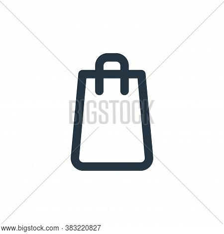 bag icon isolated on white background from fitness collection. bag icon trendy and modern bag symbol