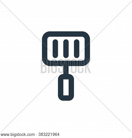 spatula icon isolated on white background from kitchen collection. spatula icon trendy and modern sp