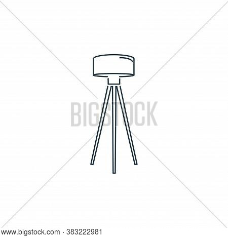 lamp icon isolated on white background from household collection. lamp icon trendy and modern lamp s
