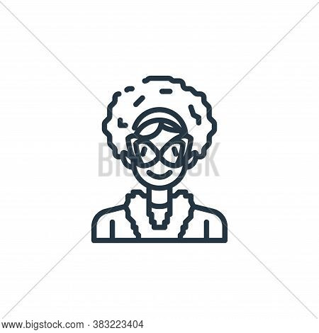 woman icon isolated on white background from st patricks day collection. woman icon trendy and moder