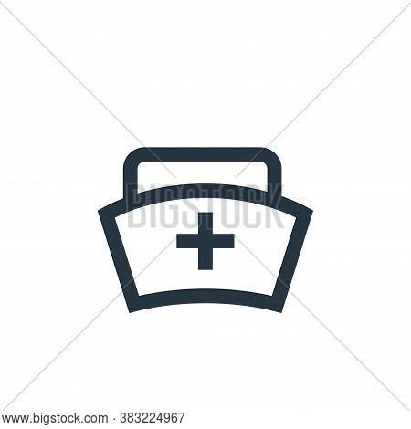 nurse icon isolated on white background from medical collection. nurse icon trendy and modern nurse