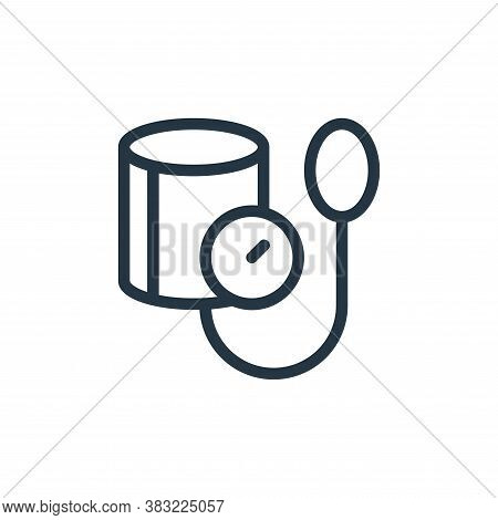 blood pressure icon isolated on white background from old age collection. blood pressure icon trendy