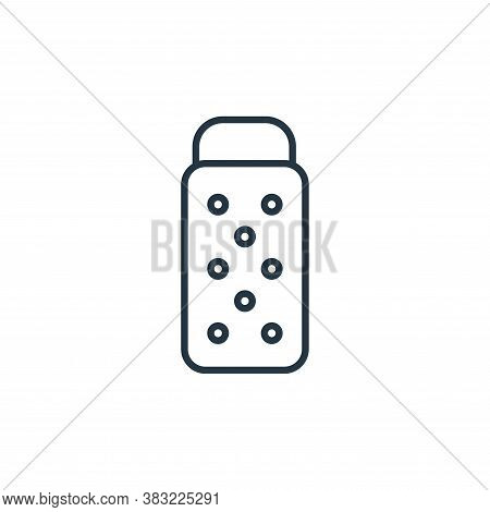 grater icon isolated on white background from kitchen collection. grater icon trendy and modern grat