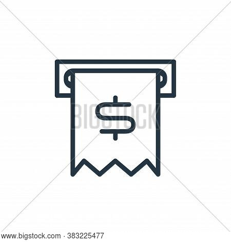 cash icon isolated on white background from shopping and ecomerce collection. cash icon trendy and m