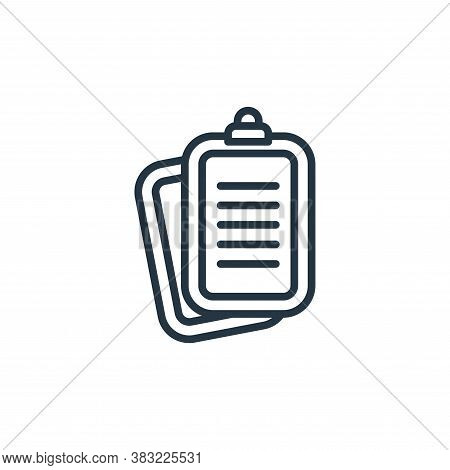 report icon isolated on white background from news and journal collection. report icon trendy and mo