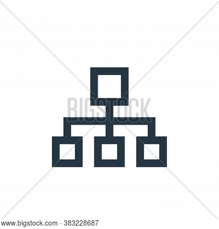 computer networks icon isolated on white background from network collection. computer networks icon