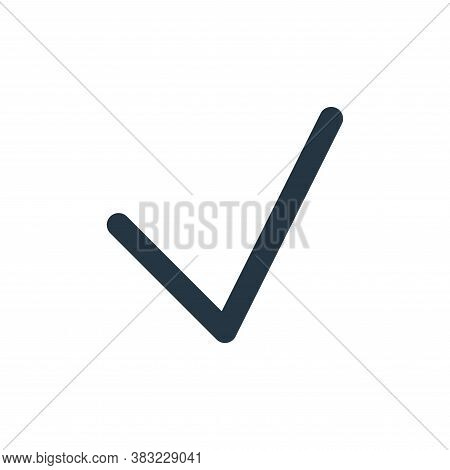 verified icon isolated on white background from user interface collection. verified icon trendy and