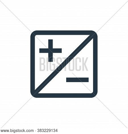 exposure icon isolated on white background from photography collection. exposure icon trendy and mod