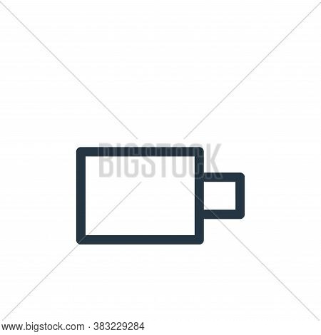 full battery icon isolated on white background from smartphone ui ux part collection. full battery i
