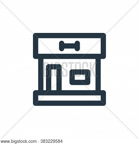 gym icon isolated on white background from fitness collection. gym icon trendy and modern gym symbol