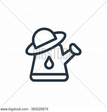 gardening icon isolated on white background from old age collection. gardening icon trendy and moder