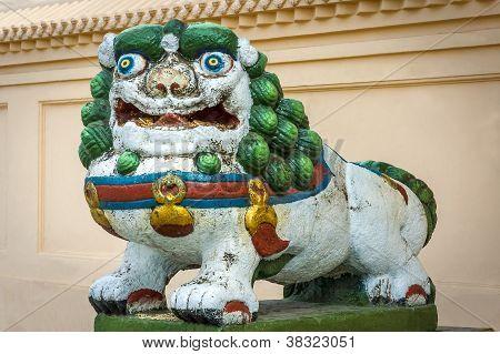 Dragon In Mongolia