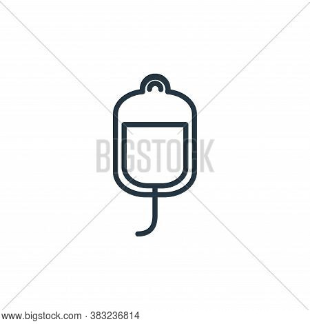 infusion icon isolated on white background from health collection. infusion icon trendy and modern i