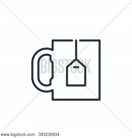 tea icon isolated on white background from education collection. tea icon trendy and modern tea symb