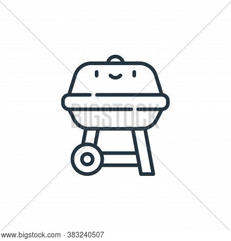 grill icon isolated on white background from spring collection. grill icon trendy and modern grill s
